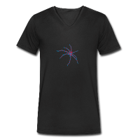 Araignée rayée claire-T-shirt