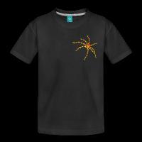 Araignée rayée claire-Tee shirt