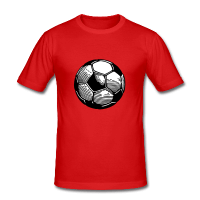 Ballon football-Tee shirt