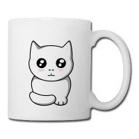 Chaton kawaii anime-Tasse