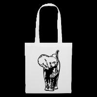 Elephant bébé-Tote Bag