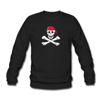 jolly roger pirate-Sweat-shirt