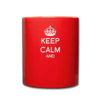 Keep calm à personnaliser-Tasse