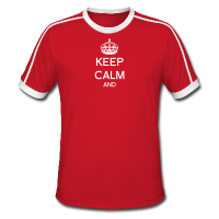 Keep calm à personnaliser-Tee shirt