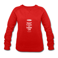 keep cool keep calm bière-Sweat-shirt Femme