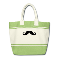 moustache anglaise-sac