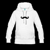 moustache boucles rondes-Sweat-shirt à capuche