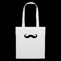 moustache boucles rondes-Tote Bag