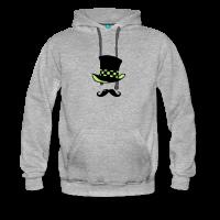 Moustache chapelier-Sweat-shirt à capuche