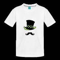 Moustache chapelier-Tee shirt
