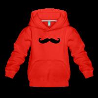 Moustache classique-Sweat à capuche