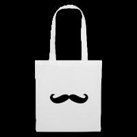 Moustache classique-Tote Bag