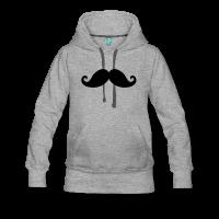 moustache fantaisie-Sweat-shirt à capuche