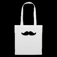 moustache épaisse-Tote Bag