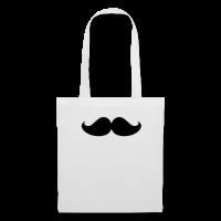 moustache-Tote Bag