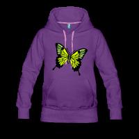 Papillon 3 motifs-Sweat-shirt à capuche