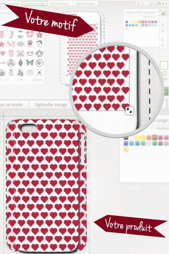 coque iphone à impression complète
