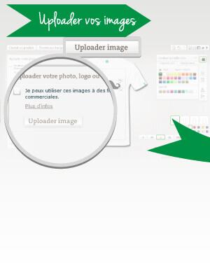 Imprimer un tee shirt en ligne avec son image