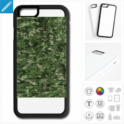 coque mobile armée personnalisable