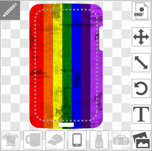 Image vintage haute résolution à sept bandes de couleurs, design pour coque iPhone et mobile haute résolution.