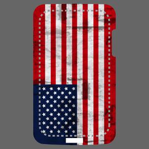 Personnalisez votre coque de téléphone avec le drapeau américain. Motif drapeau spécial portable.