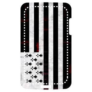 Design haute résolution de drapeau breton vintage, pour impression sur coque de téléphone.