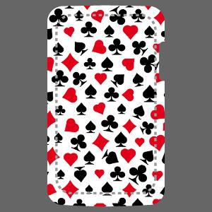 Symboles jeu de carte et poker pour personnalisation de coque iPhone.