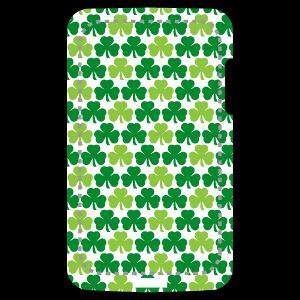 Décorez votre coque de téléphone pour la Saint Patrick aux couleurs de l'Irlande avec ce design Shamrocks.
