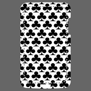 Motif trèfle spécial impression de coque iPhone et mobile.