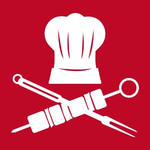 Tablier de cuisine Chef pirate à imprimer soi-même en ligne.