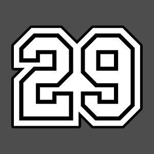 Créez votre t-shirt numéro 29 personnalisé avec le design er Spreadshirt.