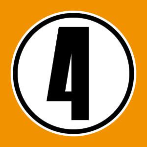Design sportif et numéro de maillot composé du numéro 5 dans un cercle.