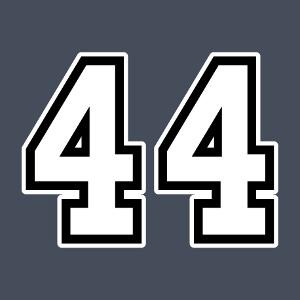 Créez votre t-shirt 44 personnalisé en ligne avec ce design à imprimer en ligne.