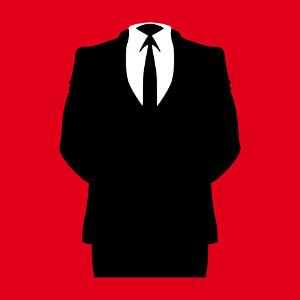 Costume Anonymous personnalisable pour créer son t-shirt geek en ligne.