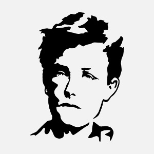 Cadeau Arthur Rimbaud à créer soi-même.