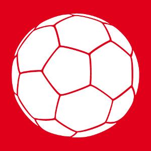 Ballon de foot une couleur, design football à personnaliser et imprimer sur t-shirt.