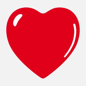 Tee-shirt Coeur à reflet à designer en ligne.