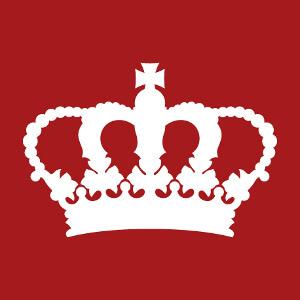 Couronne royale keep calm une couleur à personnaliser et imprimer en ajoutant son texte, créez votre blague keep calm en ligne.