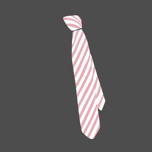 Cadeau Cravate positionnée de travers personnalisé.