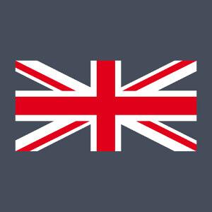 Imprimez votre tee shirt Union Jack personnalisé en ligne avec ce motif qui reproduit la partie route et blanche du drapeau anglais.