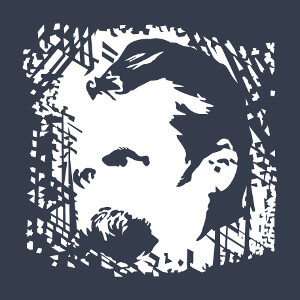 Article Portrait de Nietzsche customisé.
