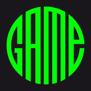 Game, design une couleur dont les lettres assemblées forment un rond.