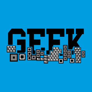 Geek college et jeu de briques, design retrogaming, pixelart et gaming personnalisé.
