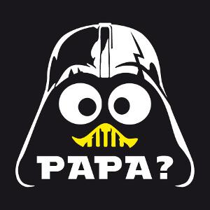 Combo Caliméro et Dark Vador, imprimez un t-shirt geek original.