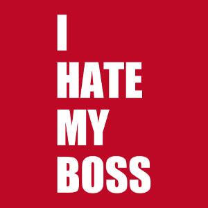 Accessoire I hate my boss à personnaliser soi-même.