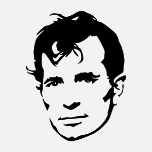 Imprimer un t-shirt Jack Kerouac personnalisé.