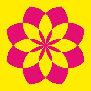 Personnalsier un t-shirt lotus indien avec cette fleur de lotus une couleur personnalisée.