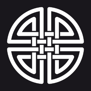 Imprimez votre tee shirt celtique en ligne. Noeud celte circulaire à brins doubles.