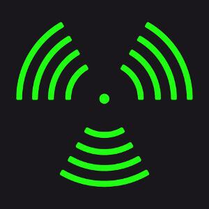 Ondes sonores autour d'un point, créez un t-shirt musique original.