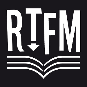 RTFM, un design développeur et informatique, acronyme de Read The Fucking Manual.